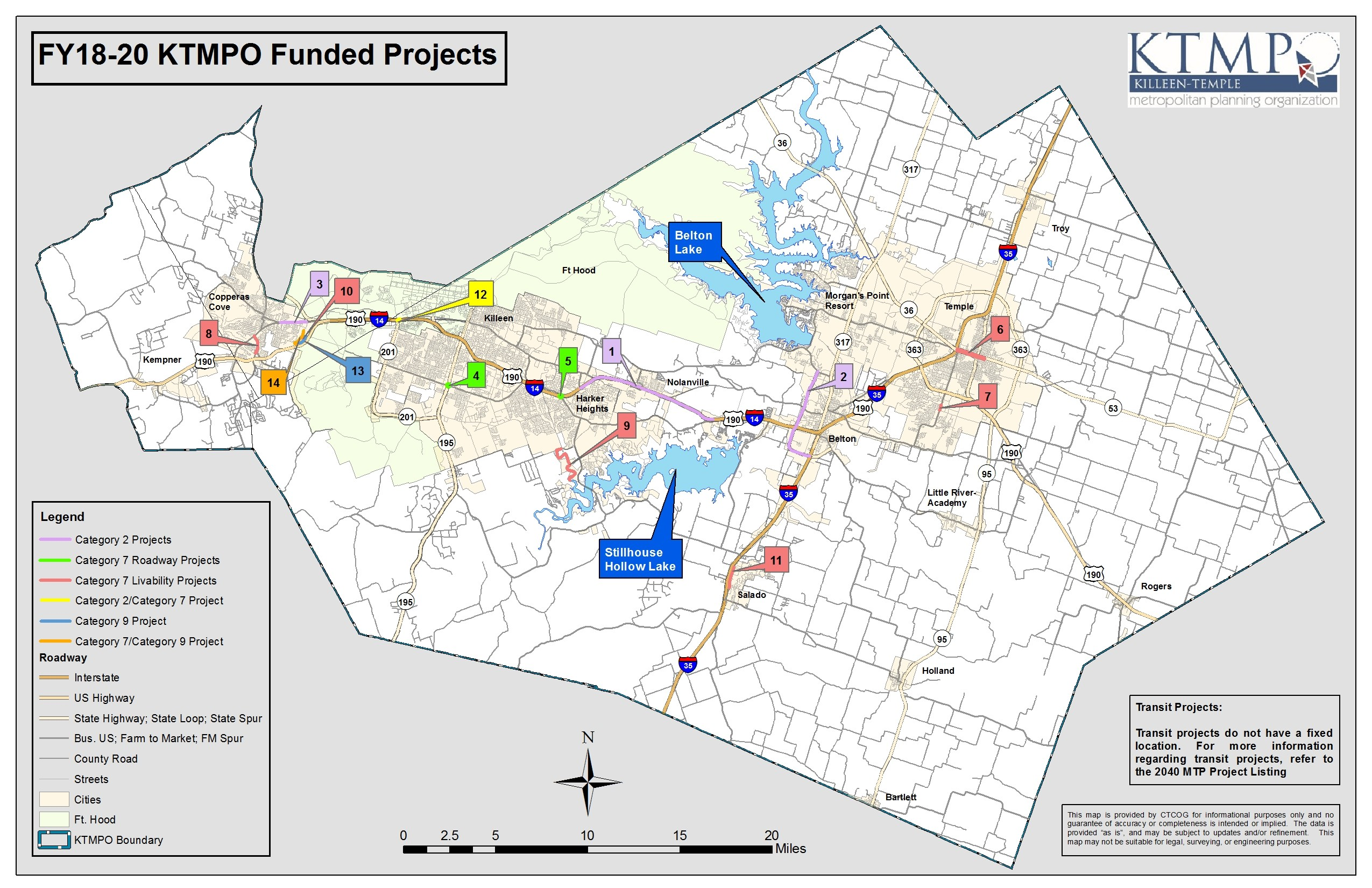 FY18-20 Funded Projects