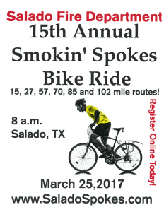 15th Annual Smokin' Spokes Flyer